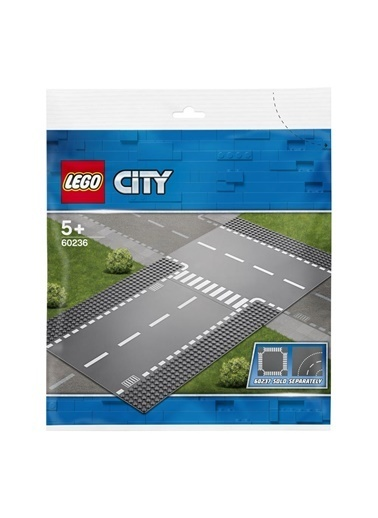 Lego LEGO City Straight And T Junction Renkli